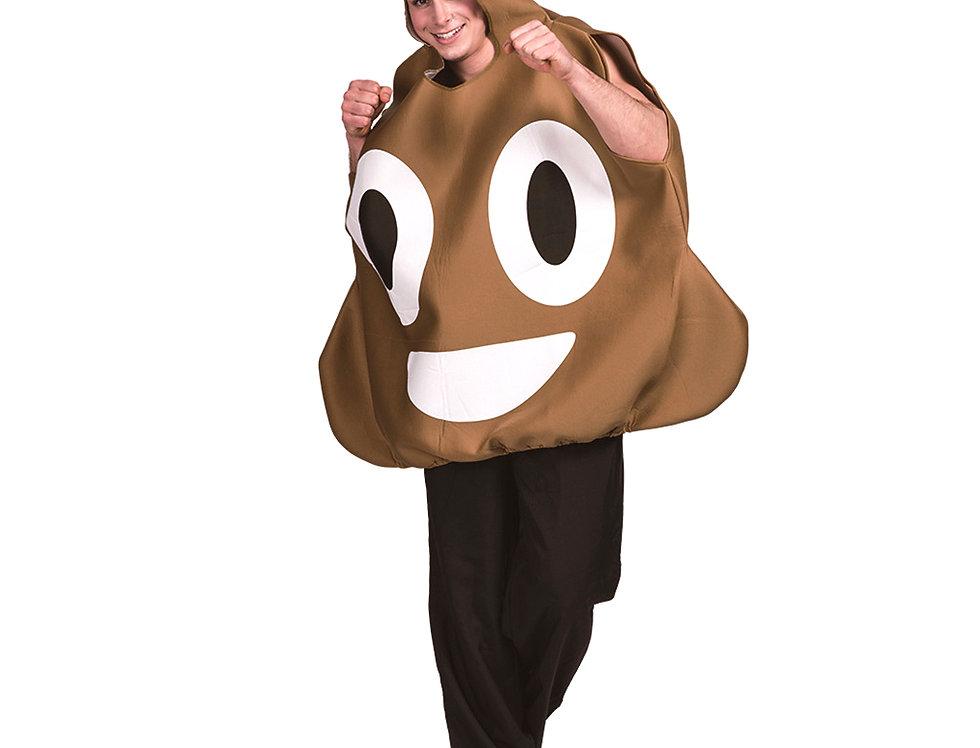 Poop Emoji Adult Unisex Costume