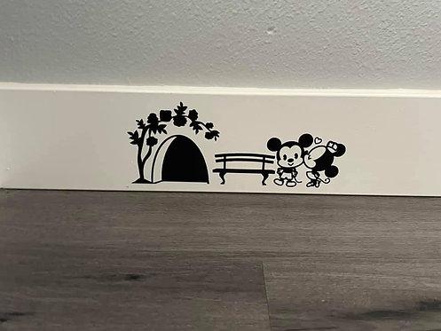 Baseboard Mouse hole