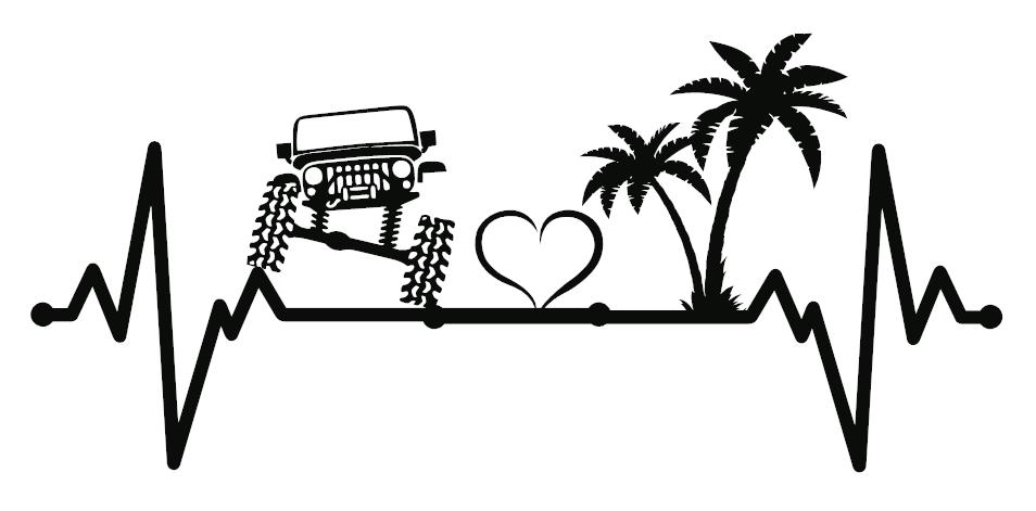 Jeep and Beach Love