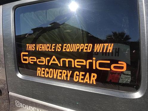 "GearAmerica ""Equipped"" Logo"