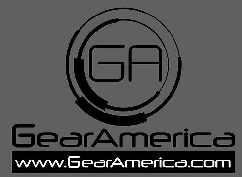 "GearAmerica 12"" Wide Logo"