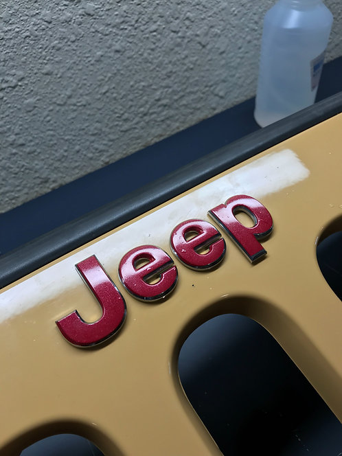 Jeep Grill Logo Overlay