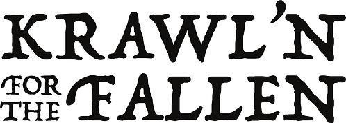 Krawl'N for the Fallen Small Logo