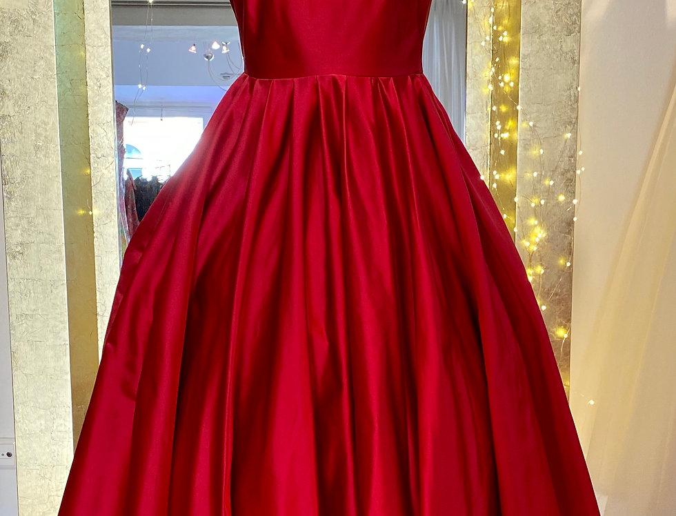 Trixie dress in silk