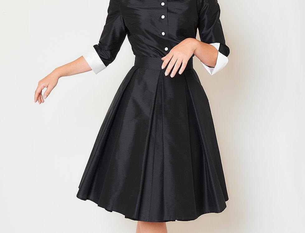 Rosie skirt in silk