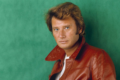 Johnny Hallyday portrait par Tony Frank. Studio Mac Mahon en 1976