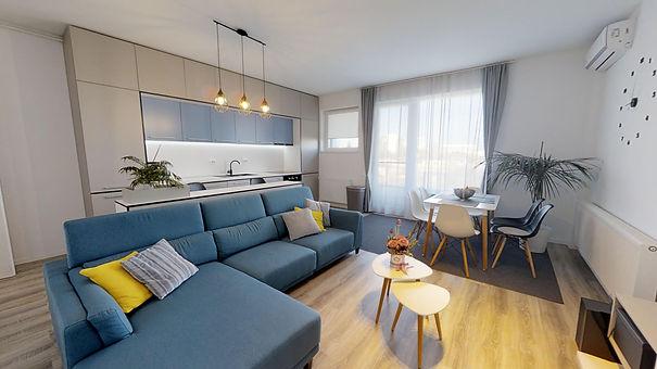 Apartament 3 camere Laguna Residence