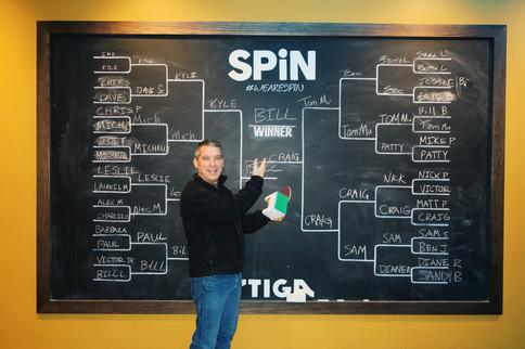Pong Winner Bill Latourette