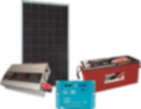 Sistema de energia voltaica offgrid