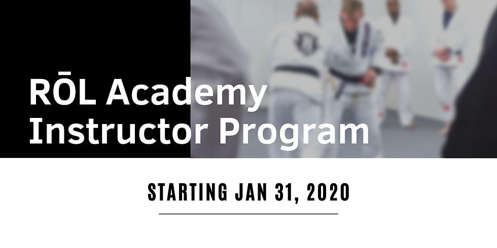 Instructor Program