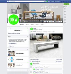 DRAWER - Page Facebook