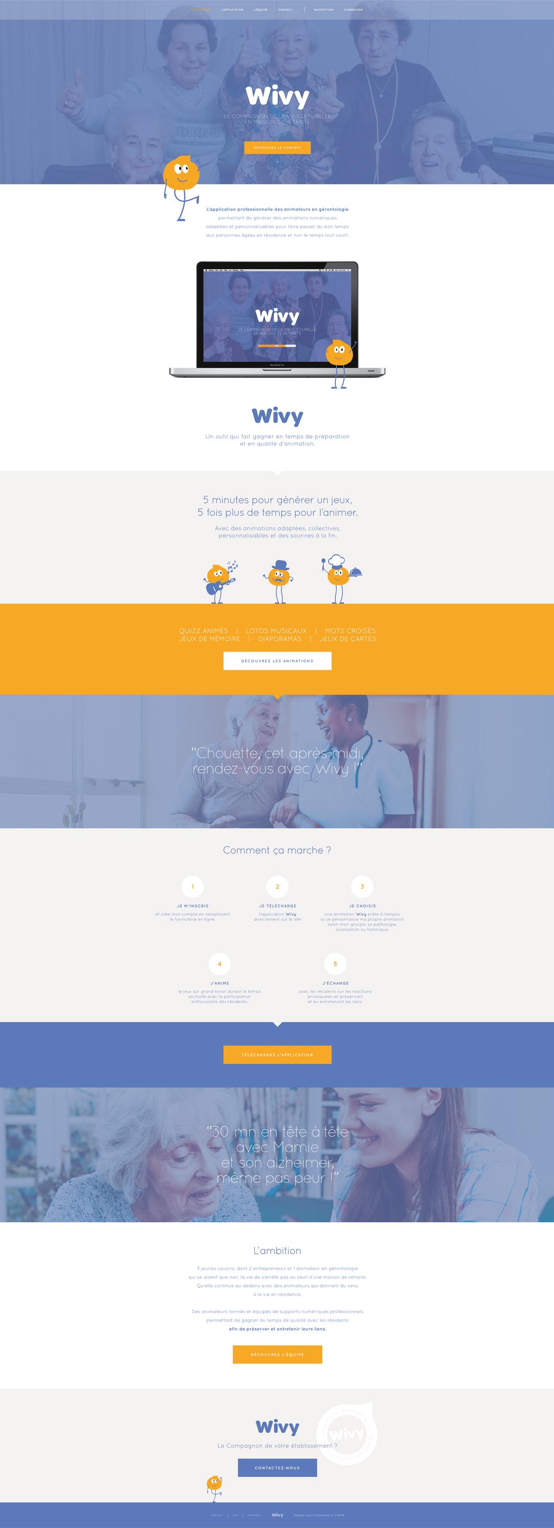 WIVY - Web design