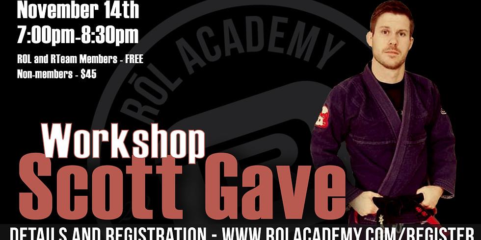 Scott Gave Workshop