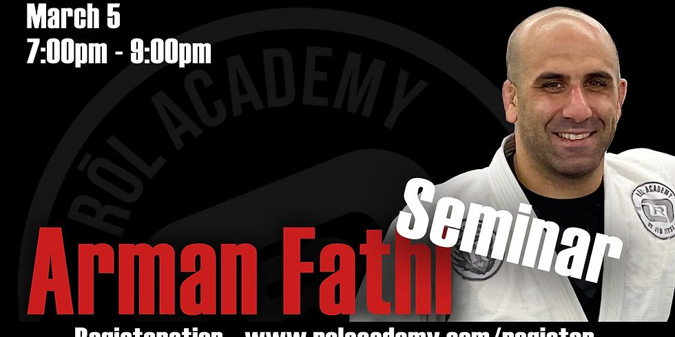 Arman Fathi Seminar