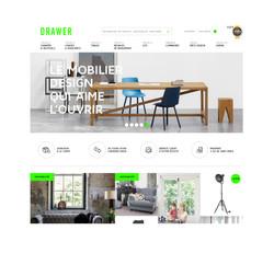 DRAWER - Web design