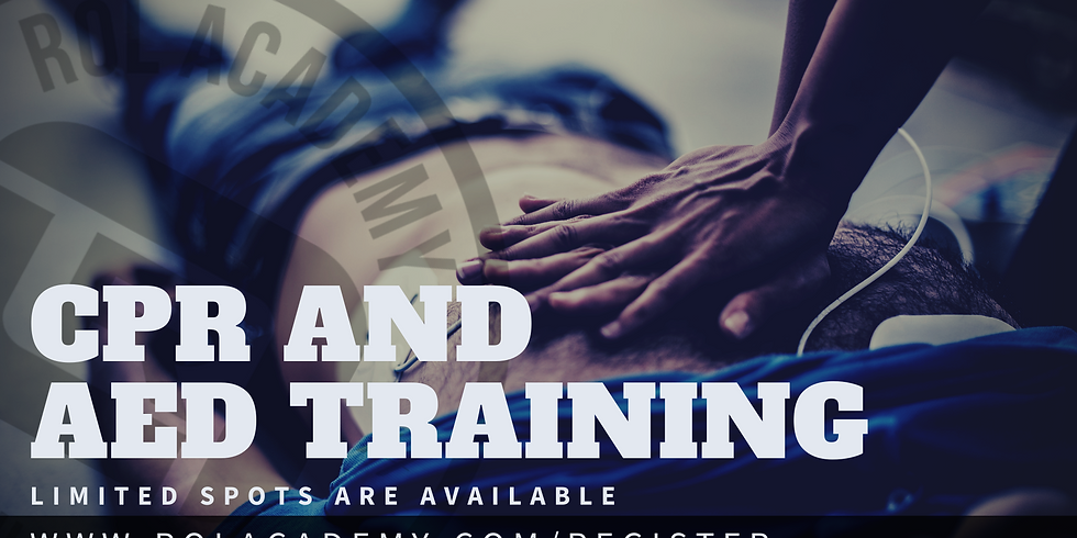 CPR and AED Training (Hybrid)