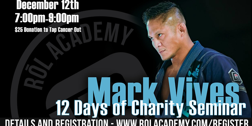 12 Days of Charity Seminar with Mark Vives