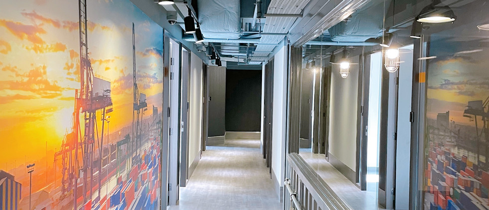 Hallway of Kwai Hing Nexen Workshop