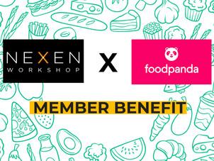 Nexen Workshop partners with Food Panda🎉
