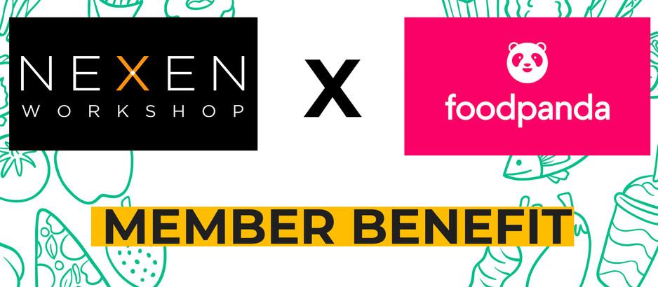 Nexen Workshop partners with Food Panda
