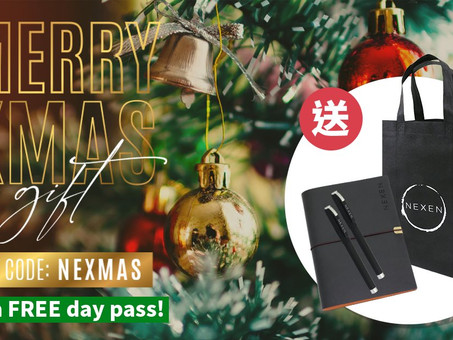 Xmas Giveaway Alert! - Free one-day pass giveaway