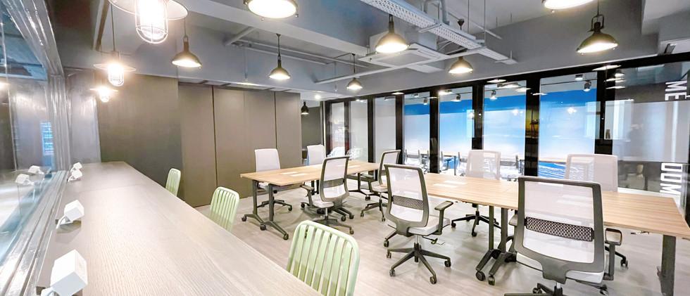 Hot desks of Kwai Hing Nexen Workshop
