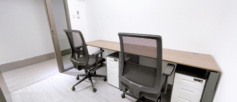 Fixed desk of Kwai Hing Nexen Workshop