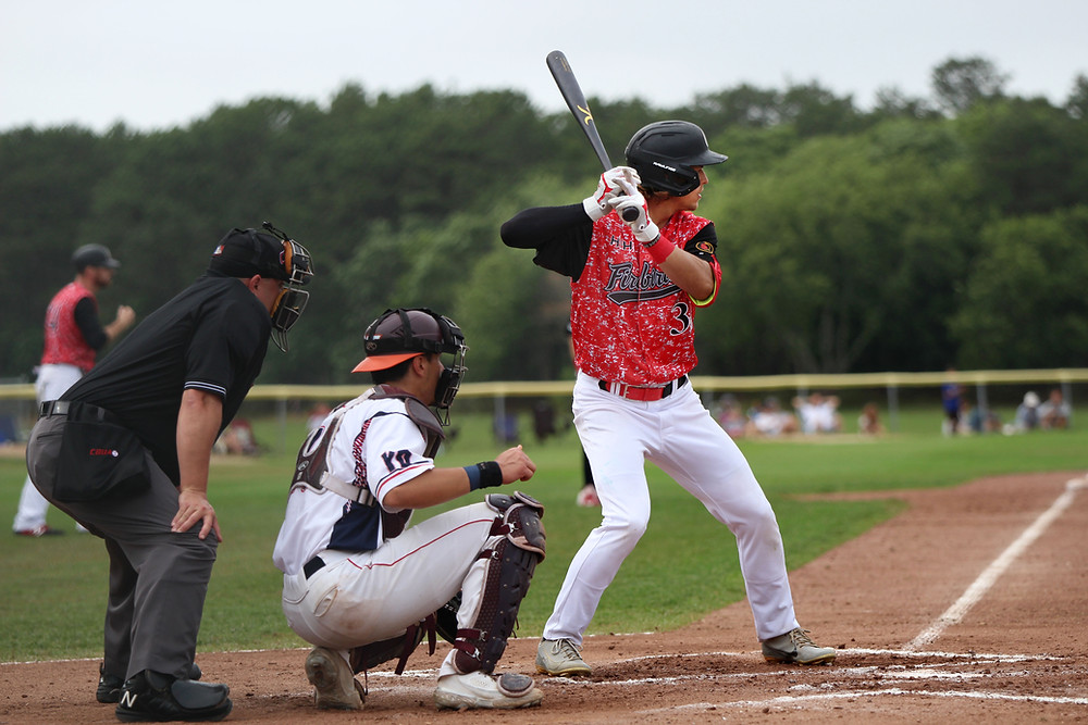 Connor Kokx at the plate
