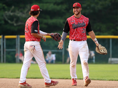 Orleans gets back in the win column with a 5-1 victory over Cotuit