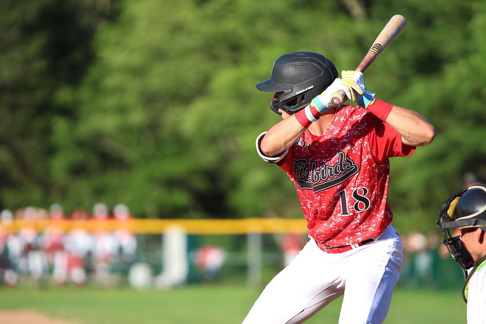 Jared McKenzie batting
