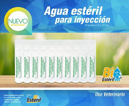 Agua Estéril para inyección