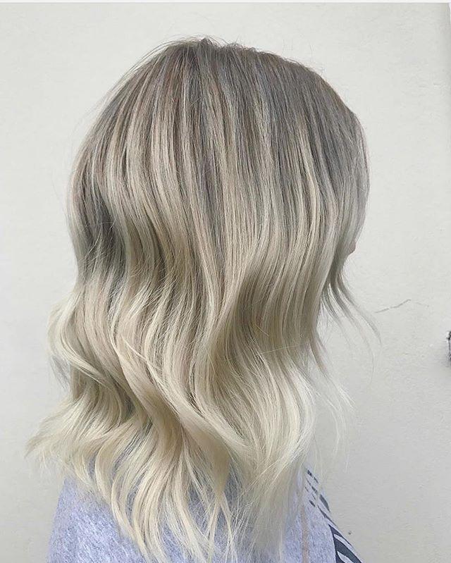 Fresh locks for this babe hair colour by
