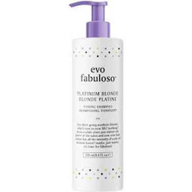 Evo Fabuloso Platinum Blonde Toning Shampoo