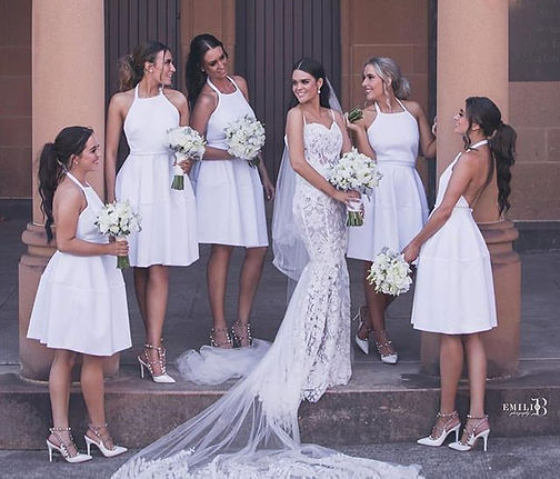 Gorgeous bridal party _emlefoe 💍💍_Hair