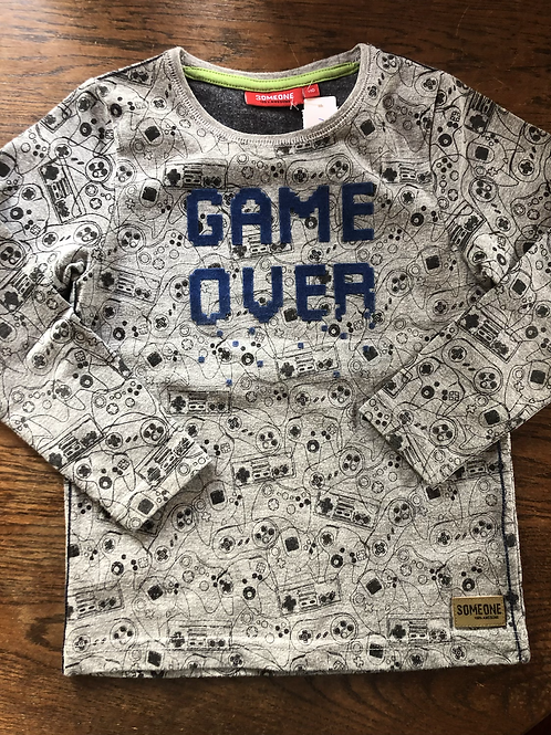 Longsleeve Someone game over