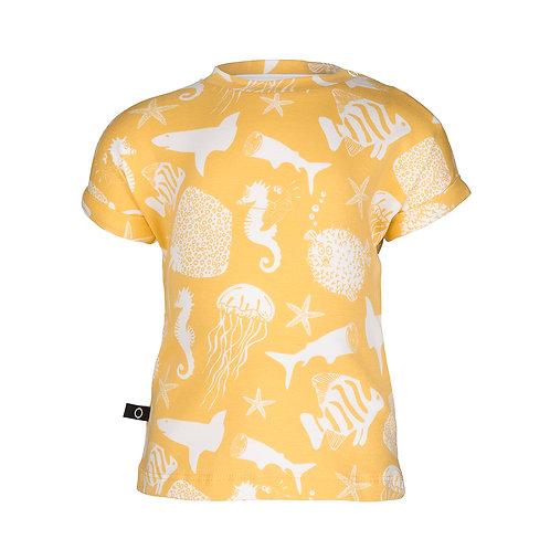 T-shirt zeedieren Noeser
