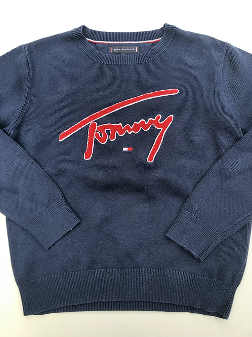 Trui Tommy Hilfiger donkerblauw Tommy
