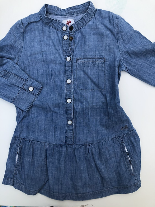 Jeansjurk American Outfitters blauw