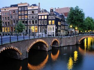 Studying Abroad - Gardner takes key customers to Amsterdam