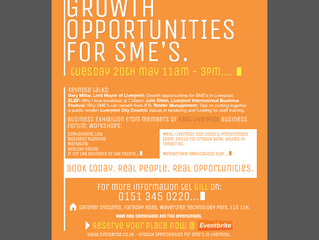 Event Details - 20th May - Growth Opportunities for SME's