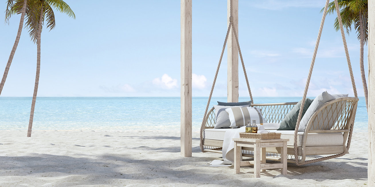 hanging-sofa-on-sand-beach-with-palm-ad-