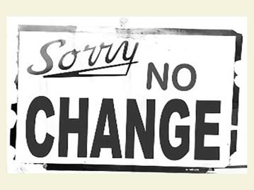 Why Is Change So Dang Hard?