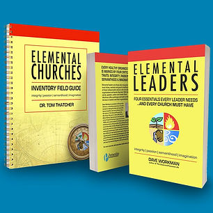Elemental Churches Inventory with square