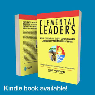 Elemental Leaders book with square box b