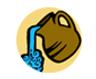 water/servanthood icon