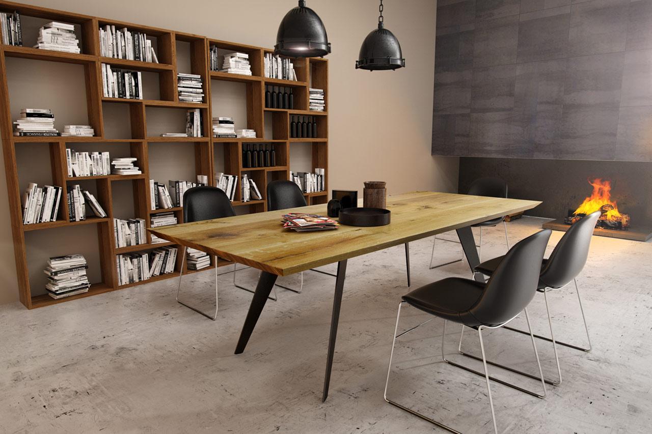 Massivholz Tisch Fold