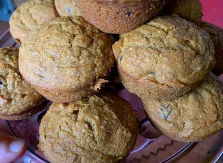 Feel Good Pumpkin Muffins
