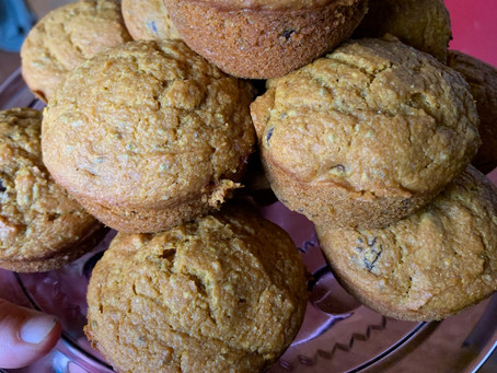 Feel Good Pumpkin Muffins