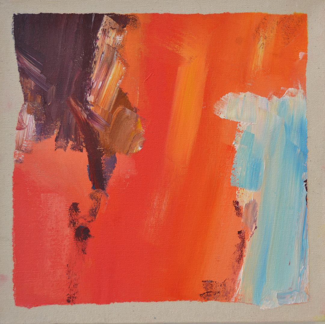 30 x 30 cm Acrylic on canvas 2017