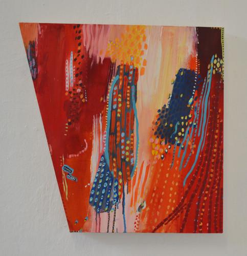 50 x 50 cm Acrylic on canvas 2017